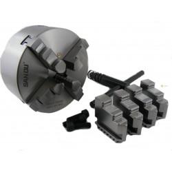 Uchwyt tokarski 4 szczękowy DK-11 125 mm DIN6350
