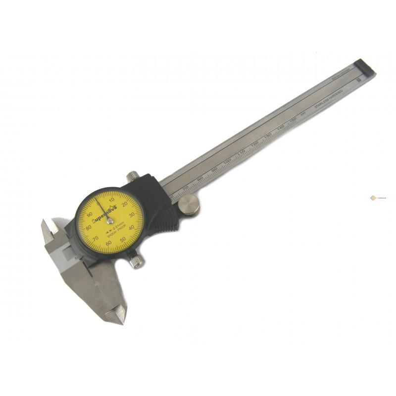 SUWMIARKA ZEGAROWA 150 / 0,01mm FV SHOCK PROOF