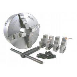 Uchwyt tokarski 4 szczękowy DK-12 200 mm DIN6350